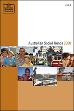 Picture: Australian Social Trends 2008 cover