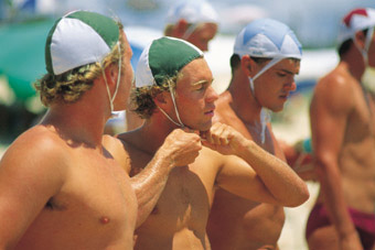 Image: Surf lifesavers