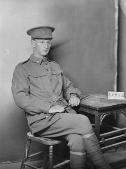 Charles Edward Rudolph, one of four CBCS staff who died in World War I.