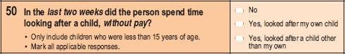 2006 - Household Form - Question 50