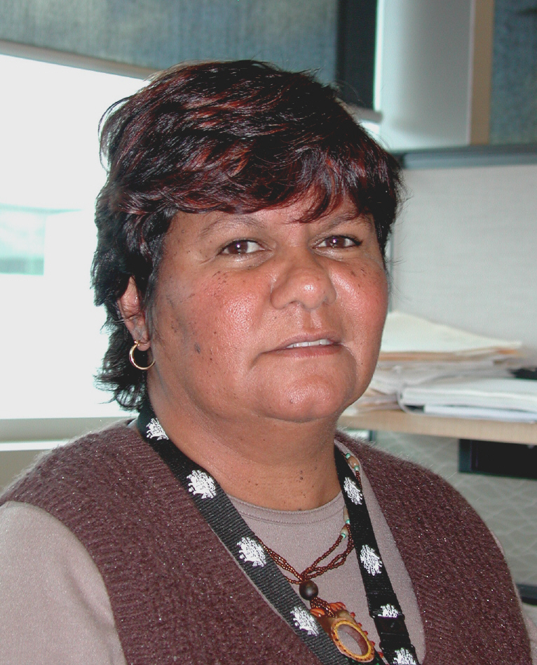 Photo: Dena Dodd-Ugle, Indigenous enumeration manager,