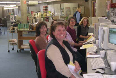 Photo: Goldfields Regional Library staff attending LEP Training