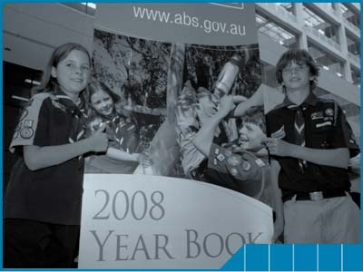 Scouts Australia assist to launch Year Book Australia