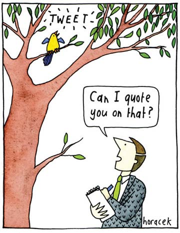 Figure 2.2: 'Can I quote you on that?' Judy Horacek.