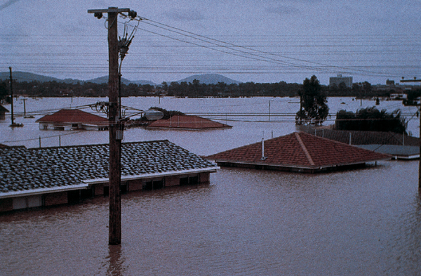 Photograph: Brisbane floods 1974.