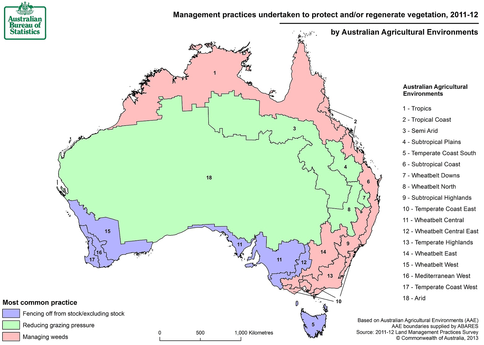 Image: Map of vegetation practices