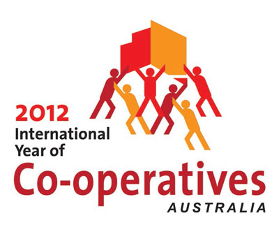 Image: International Year of Cooperatives 2012 logo