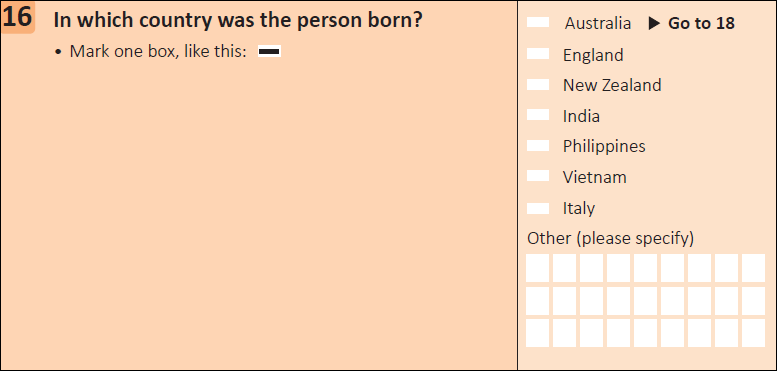 This question seeks information on which country a person was born in.